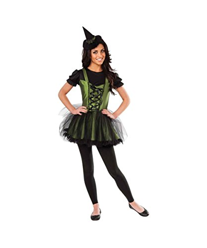 Wizard of Oz Wicked Witch of the West Young Womens Halloween Costume