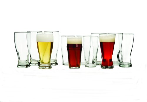 Libbey International 12-Piece Beer Glass Set