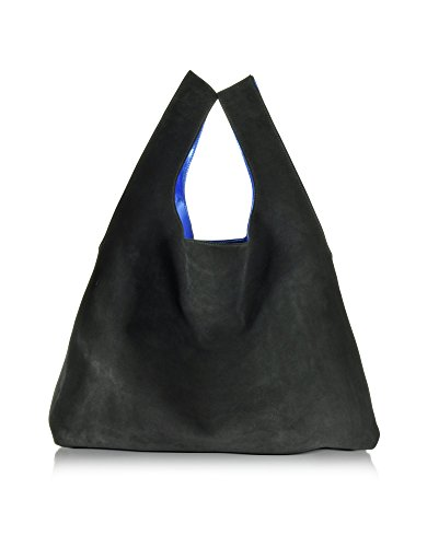 mm6-maison-margiela-damen-s54wc0011sx9886900-blau-schwarz-wildleder-tote