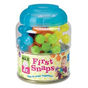 Alex Jr. First Snaps Building Toy