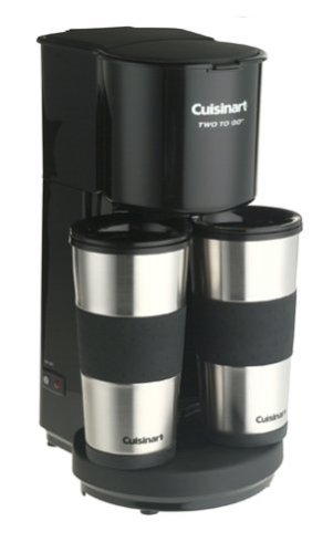 Cuisinart TTG-500 Two-to-Go Coffeemaker Kitchen Dining Store