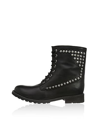 Mimic Copenhagen Botas moteras Boot with studs at sides