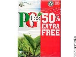 Pg Tips 240 Bags 2pk (160 Bags +80 Bags Free)- 480 teabags total. by PG Tips