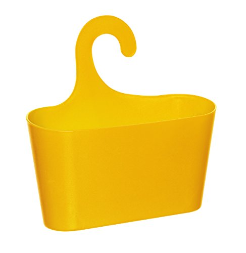 wohnideenshop duschkorb mit haken zum einh ngen gelb und 15 anderen farben zum ausw hlen. Black Bedroom Furniture Sets. Home Design Ideas