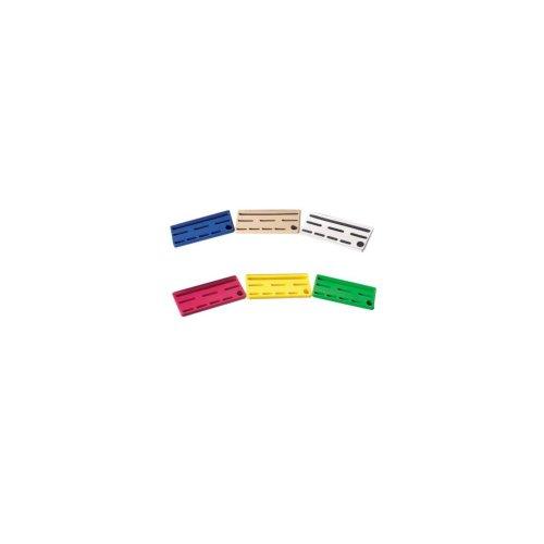 Edlund KR-50 I S/S Color-Coded Knife Rack Master Pack Insert - 6 / PK