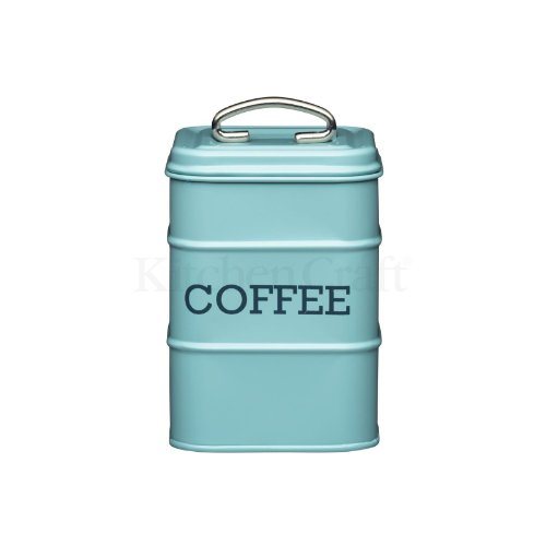 Kitchen Craft Coffee Canister 11 X 17Cm Blue