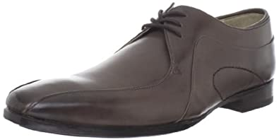 (2.7折)奥利弗·斯威尼 Sweeney Men's Herrick Lace-Up 顶级真皮正装皮鞋 $67.00