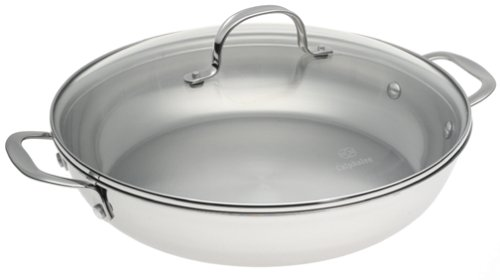 Calphalon Tri-Ply Collector's Edition 12-Inch Everyday Pan with Lid