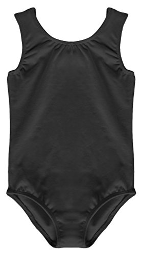 Dancina-Womens-Leotard-Tank-Top-Cotton-and-Spandex-S-Black