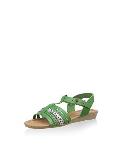 Billowy Sandalo Basso  [Verde]