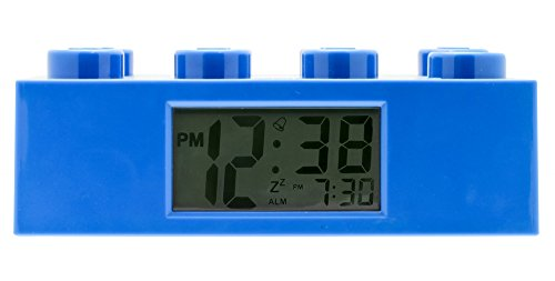 LEGO - Alarm Brick Clock, despertador, color azul (9002151)