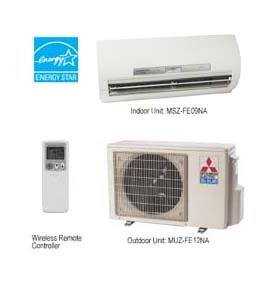 Mr. Slim 9,000 BTU 26 SEER Heat Pump Single Zone Ductless Mini Split Air Conditioner