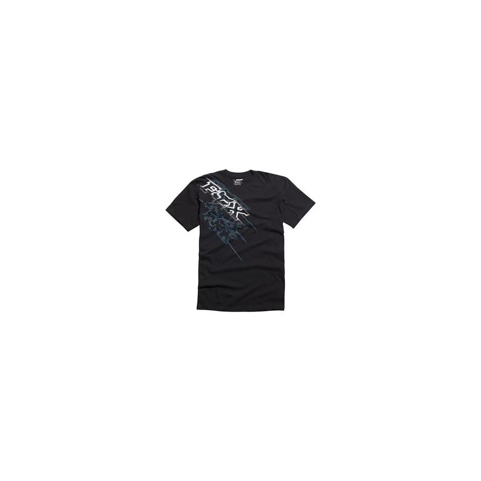 Fox Racing Fastbreak T Shirt   Large/Black