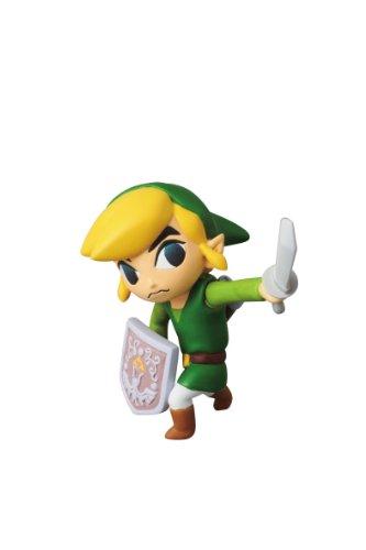 Medicom Nintendo Ultra Detail Figure Series 1: The Legend of Zelda: The Wind Waker Link UDF Action Figure (Legend Zelda Figure compare prices)