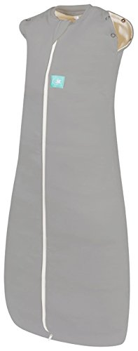 ergoPouch ERB351 ergoCocoon 1.0 TOG Swaddle and Sleep Bag, Grey, 3-12 Months