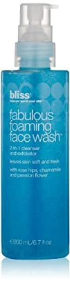 bliss Fabulous Foaming Face Wash, 6.7…