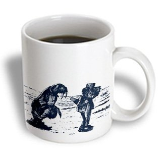 Mug_179095_1 Ps Vintage - Alice In Wonderland Walrus - Mugs - 11Oz Mug