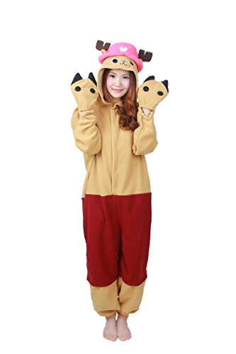 WOTOGOLD Animal Cosplay Costume Chopper Unisex Adult Pajamas Jacinth (Chopper Pajamas compare prices)