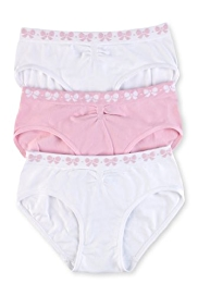 3 Pack Seamfree Bow Briefs