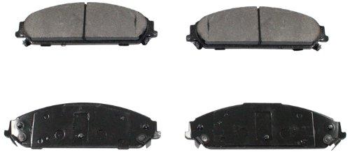 DuraGo BP323 MS Rear Semi-Metallic Brake Pad