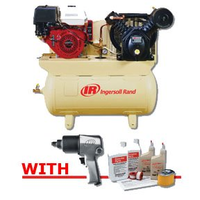 Ingersoll Rand 2475F13GH - 2-Stage Gas-Powered, 13 HP Air