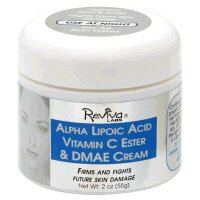 Reviva - Alpha Lipoic Acid Vitamin C Ester and Dmae Cream, 2 oz cream ( Multi-Pack)