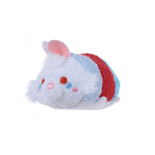 "New Disney Store Mini 3.5"" (S) Tsum Tsum White Rabbit Plush Doll (Alice In Wonderland)"