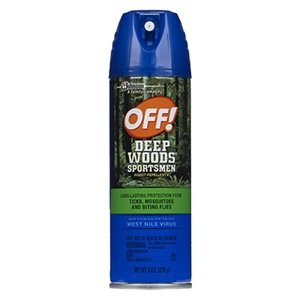 Off! Off! Deep Woods Sportsman Insect Repellent