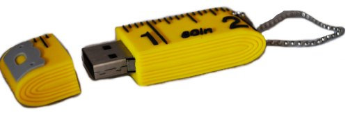 Tape Measure Usb 2 Gb Thumb Drive front-637217