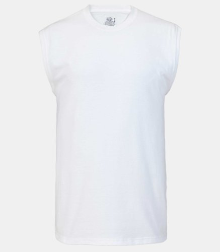 Fruit of the Loom Best™ Collection Men's Muscle – White – M