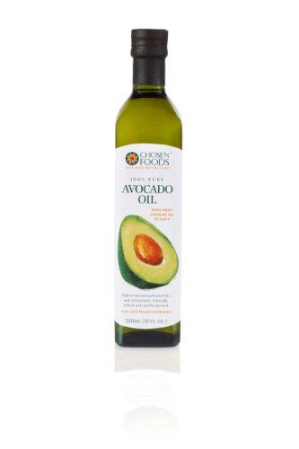 Chosen Foods Avocado Oil 500ml Bottle-Naturally Refined