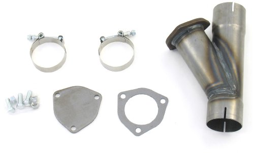 """Patriot Exhaust H1131 2-1/2"""" Exhaust Cut-Out Hookup Kit"""