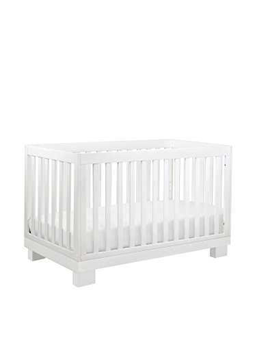 Babyletto Kid's Modo 3-in-1 Convertible Crib with Toddler Bed Conversion Kit, White