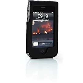 Tech21 d3o Slim Leather Case for iPhone 3G and 3GS - Black