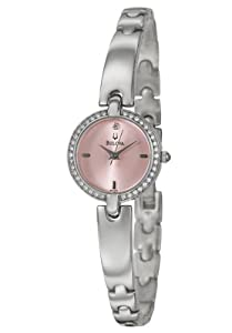 Bulova Crystal Women's Quartz Watch 96L162