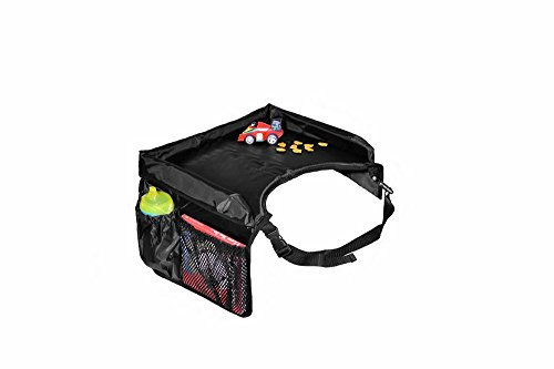 Star Kids Snack & Play Travel Tray, Black (Lap Trays Kids compare prices)