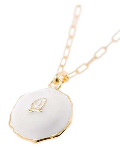 [Q-pot. Macaroon Silver Necklace Vanilla (L) Fashion Jewelry New From Japan] (Vintage Costume Jewelry Images)