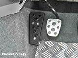Beatrush(ビートラッシュ) ドライバーフットレスト アルミ製 [ブラック] スバル WRX Sti VAB 【S46024DRK】