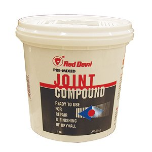 Buy Joint Compound 1 Quart (Red Devil Painting Supplies,Home & Garden, Home Improvement, Categories, Painting Tools & Supplies, Wallpaper Supplies, Wall Repair, Spackle)