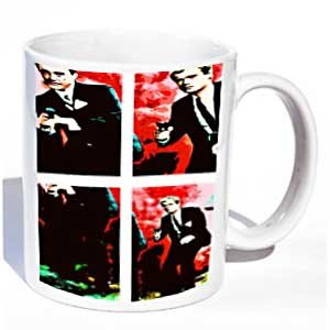 Man from UNCLE Pop Art Coffee Mug