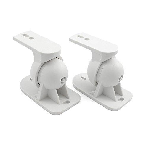Incutex 2x pezzi (una coppia) di supporti per altoparlanti o casse da parete universali supporto casse acustiche- Per es. per le marche Teufel, Bose, Yamaha, Bosten ecc.