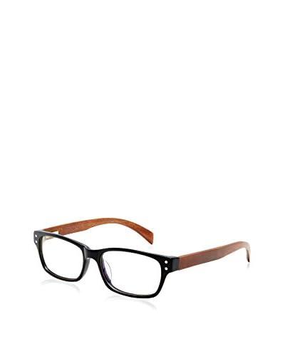 Ivory + Mason Women's Oriole Eyeglasses, Black/Chestnut