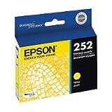 Epson Genuine Brand Name, OEM T252420 Yellow DURABrite Ultra Ink (300 YLD) for Workforce WF-3620, WF3620 DTWF, WF-3620 DWF, WF-3640, WF-3640 DTWF, WF-7110, WF-7110 DTW, WF-7610, WF-7610 DWF, WF-7620, WF-7620 DTW, WF-7620 DTWF Printers