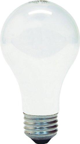Ge 41036 - 100A/W A19 Light Bulb (4 Bulbs)