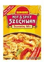 Sunbird Hot & Spicy Szechwan Seasoning Mix 3/4 Oz ( 21.3g) by Sunbird