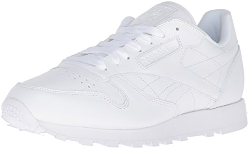 Reebok Men's Cl Lthr Fashion Sneaker, US-WHITE/White/White, 11 M US (Reebok Classics White compare prices)