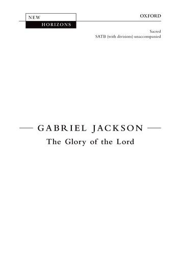 The Glory of the Lord: Vocal score