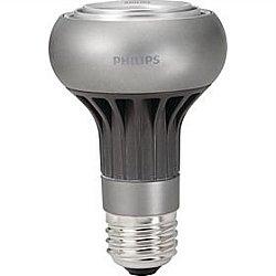 6 Pack 6 Watt R20 Medium Base Flood 2700K 45,000 Hour Philips Dimmable Led Light Bulb