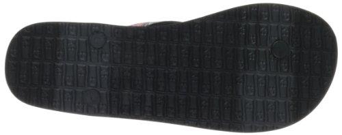 Sanuk Women's Shimmy Flip Flop,Black,8 M US