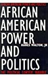 img - for African American Power and Politics book / textbook / text book